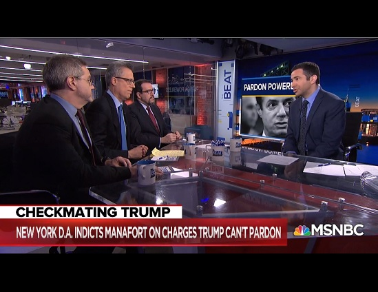 MSNBC Harlan Levy on the Beat